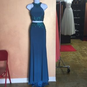 Madison James Two Piece Prom Dress